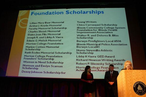 morton college foundation scholarships presentation